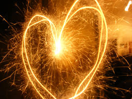 I Heart Sparklers by SoulLostAtSea