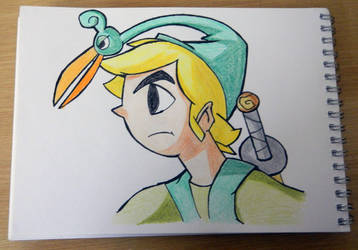 Link From Minish Cap by Pearl-Sama