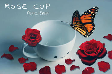 Rose Cup by Pearl-Sama