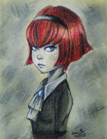 R Dorothy Wayneright by SleepyNoodleDoodles