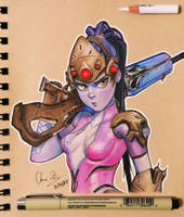 Widowmaker by SleepyNoodleDoodles