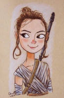 Rey by SleepyNoodleDoodles