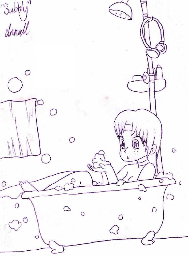 Free sketch 1 - Bubbly by Drayna