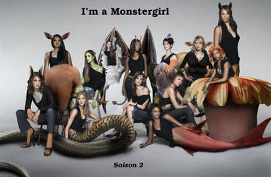 I'm a Monstergirl saison 2's poster by tsilver