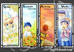 Bookmark: Seasons by yama30