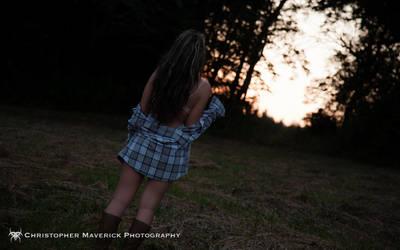 April: Sunset 9 (of 17) by chrismaverick
