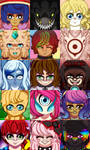 Headshot Icon Requests by VanillatheNeko