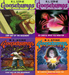 Goosebumps: Old And New Covers by Evanh123