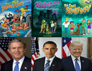 Modern Scooby Doo: Presidents by Evanh123