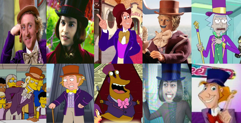 Willy Wonka: Movies, Cameos And References by Evanh123