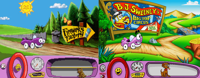 Putt Putt: Games That Don't Take Place In Cartown by Evanh123