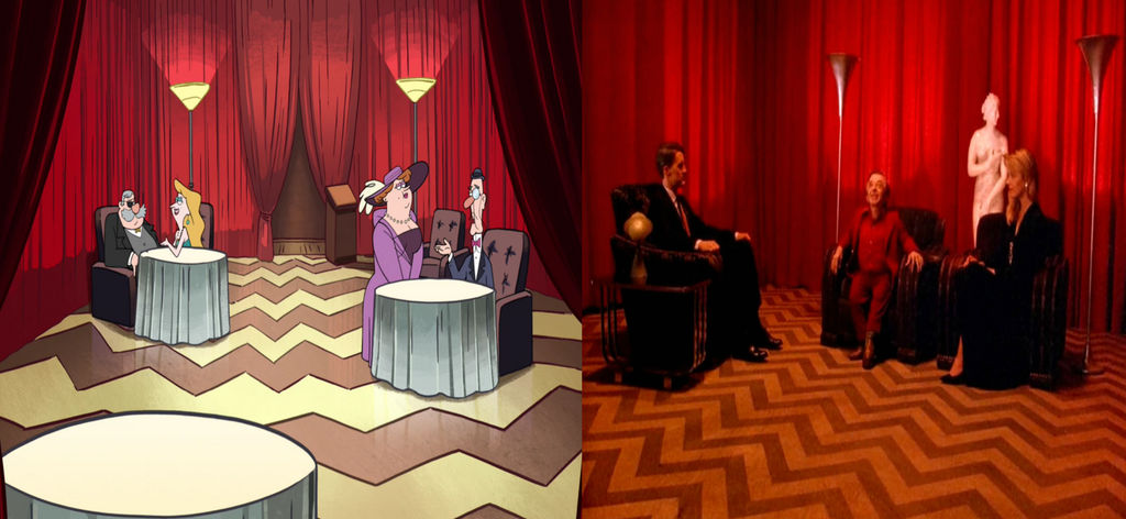 Gravity Falls: Twin Peaks, Reference by Evanh123