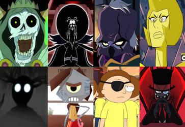 Cartoon Network: Villains, Favorites by Evanh123