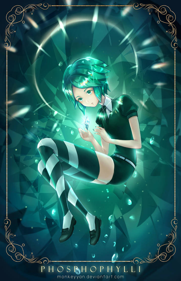 Phosphophyllite by monkeyyan