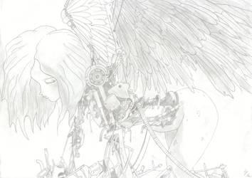 Battel Angel Alita by ZombieFX