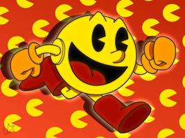 Pac-Man by dgaskins