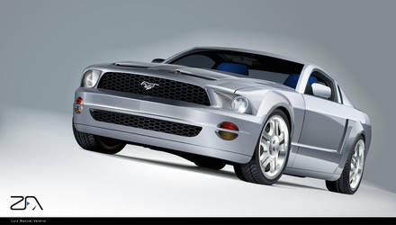 Ford-Mustang-GT by SeRHeLL