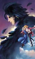 Howl No Ugoku Shiro - Fanart by Mariana-Livraes