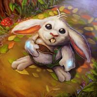 Enchanted Bunny-Mystic Warlords of Ka'a by pinkhavok