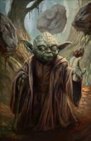 Master Yoda by pinkhavok