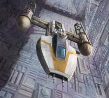 Star Wars: X-Wing Miniaures Game: Jon Vander by pinkhavok