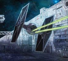 Star Wars: X-Wing Miniaures Game: Backstabber by pinkhavok