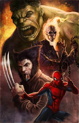 New Fantastic Four by pinkhavok