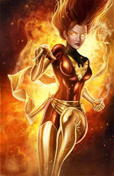 Dark Phoenix by pinkhavok