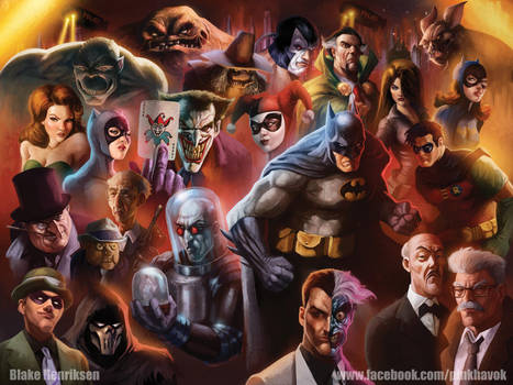 Batman The Animated Series by pinkhavok