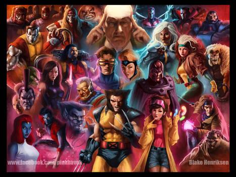 90's X-Men Animated by pinkhavok