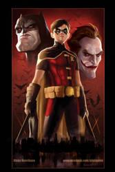 Robin Poster by pinkhavok