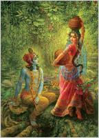 Radha-Shyamsundar by shyam108