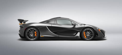 McLaren P1 GTR by StrayShadows