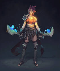 Sherazade, The Tamer of Spells 2D Fx by Pyroow