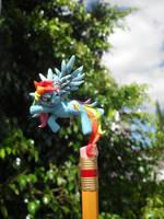 my litlte little little pony rainbow dash by JOPUTAPELIRROJO