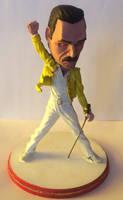 Mini Freddy Mercury by JOPUTAPELIRROJO