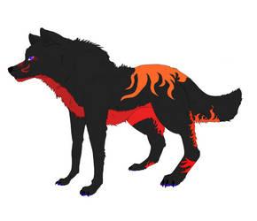 Wolf adoptable 20 point -open- by Nikita357