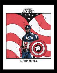 Jack Kirby Tribute by hyperking