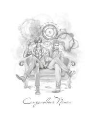 Sandalwood Ash - johnlock cover by Lenap