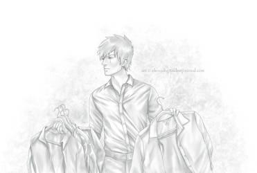 Kakashi brings Iru shirts by Lenap
