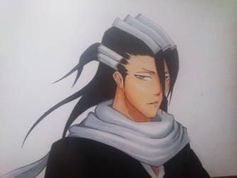 Kuchiki Byakuya by uchihajake