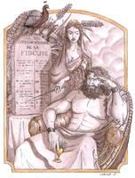 Zeus vs Hera by Ludimie