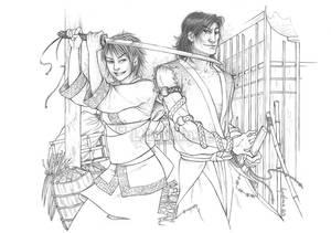 Com : Kiwako and Tetsuo by Ludimie