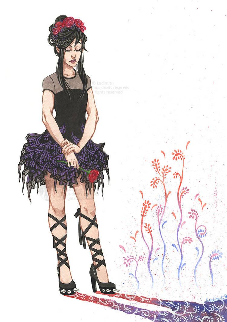 Little black dress by Ludimie
