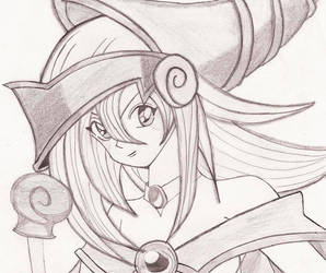 Dark Magician Girl by Caliban123