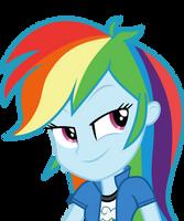 Mlp EqG 3 rainbow dash (...) vector by luckreza8