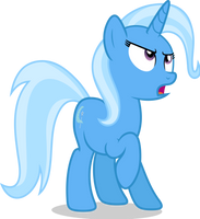 Mlp Fim Trixie (dislike) Vector by luckreza8