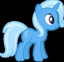 Mlp Fim Trixie (happy) vector #2 by luckreza8
