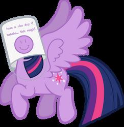 Mlp Fim Twilight Sparkle (...) vector #11 by luckreza8