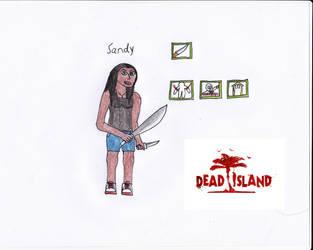 Dead Island Character Sandy by Demonizer68